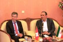 سوئیس آماده تقویت مناسبات تجاری با ایران است