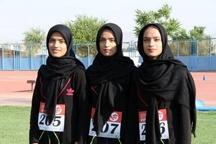 حضور سه قلوهای دونده قزوینی در مسابقات کشوری