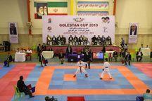رقابتهای بینالمللی کاراته گلستان آغاز شد