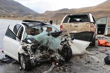 شمار فوتی سوانح رانندگی درجاده های زنجان 26 درصد افزایش یافت