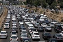 ترافیک 3 محور اصلی قم سنگین و روان است