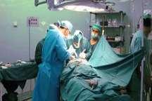 اولین عمل جراحی تومور نخاعی در کاشمر با موفقیت انجام شد