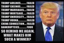 فهرست ورشکستگی های ترامپ؛ از سال 1990 تا ریاست جمهوری