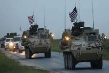 ورود یک کاروان نظامی آمریکایی به استان الحسکه سوریه