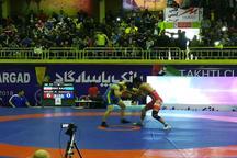 تیم کشتی فرنگی منتخب خوزستان به مصاف تیم فنلاند رفت