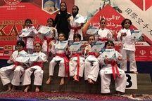 بافقیها در مسابقات آسیایی کاراته، فراتر از انتظار ظاهر شدند