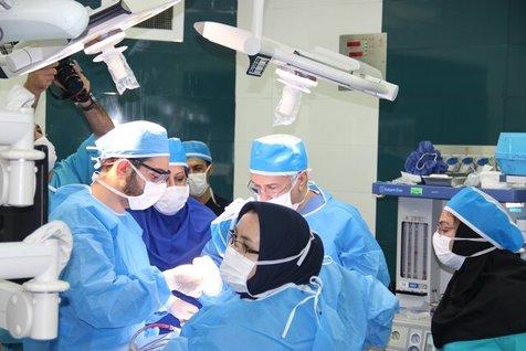 صورت یک بیمار با کمک فناوریهای نوین بازسازی می شود