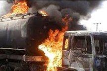 قربانیان انفجار تانکر نفت در پاکستان/  ۲۰۶ نفر