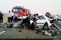 ۵ کشته در تصادف محور دشتی