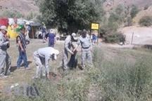 پاکسازی حاشیه دریاچه گهر با حضور مدیرکل محیط زیست لرستان
