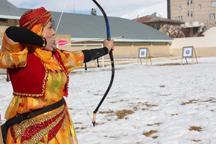 فارس قهرمان مسابقات تیر و کمان سنتی کشور در خلخال  شد