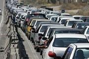 ترافیک پرحجم در محورهای منتهی به مرزهای چهارگانه/ 9 جاده مسدود شد