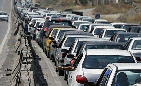 محور ایلام-مهران ترافیک سنگین دارد