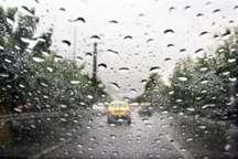 استان تهران آخر هفته شاهد بارش پراکنده  باران است