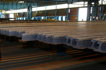 دومین محموله 1000 تنی ریل ذوب آهن آماده تحویل به راهآهن شد
