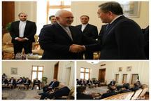 دیدار ظریف و معاون اول وزیر امور خارجه قزاقستان