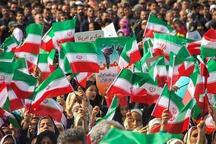 نمایش دلبستگی اقلیت های دینی به نظام در راهپیمایی 22 بهمن
