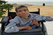عبدالزهرا آلبوغبیش هنرمند معلول و محبوب بندر امامی درگذشت