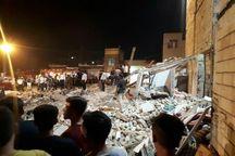 انفجار ساختمان در ورامین یک کشته و ۸ زخمی داشت