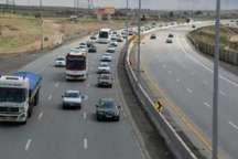 تردد خودروها در تمامی جاده های استان تهران روان و عادی است