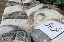 شناسایی و توقیف کامیون حامل محموله یک تنی تریاک توسط پلیس هرمزگان