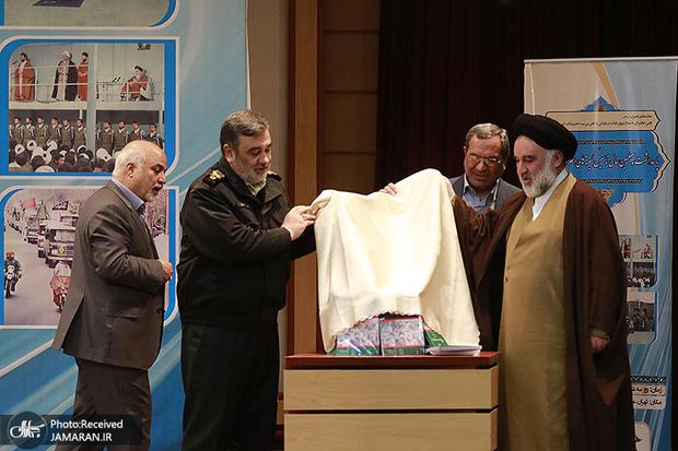 مراسم رونمایی از کتاب هشت جلدی «عملکرد کمیته های انقلاب اسلامی» برگزار شد