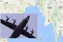 بخش هایی از لاشه هواپیمای ناپدیدشده میانمار پیدا شد
