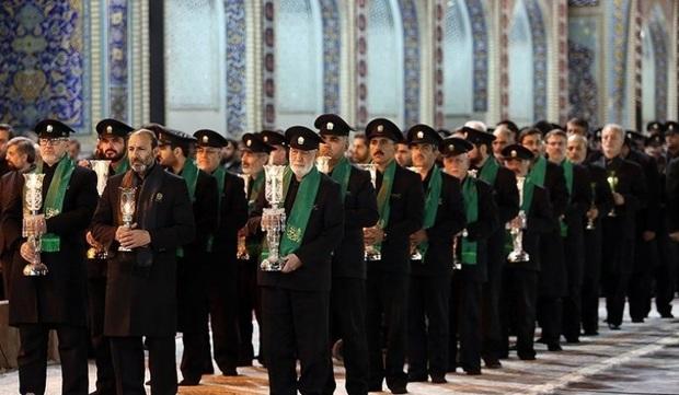 حرم عبدالعظیم (ع) 3 هزار خادم افتخاری دارد
