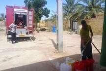 آبرسانی با تانکر به برخی از مناطق بندر چوئبده آبادان  بخشدار مرکزی آبادان قطع برق باعث اختلال در آبرسانی