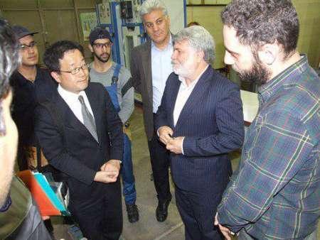 بازدید مدیر و مشاور سازمان توسعه صنعتی سازمان ملل متحد (UNIDO) از مرکز تربیت مربی