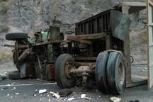 13 مصدوم در تصادف محور ایرانشهر-خاش