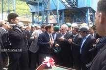 استفاده از بروزترین تکنولوژی در کارخانه زغالشویی سوادکوه