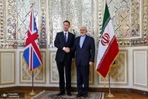دیدار وزیرخارجه انگلیس با محمد جواد ظریف
