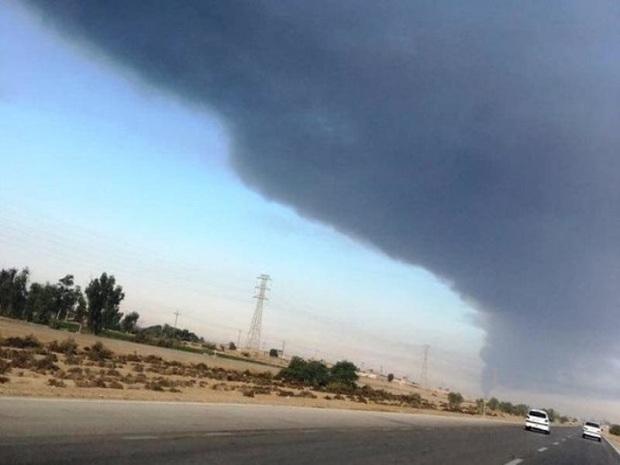 خروج یک کمپرسور از مدار آسمان آبادان را دودآلود کرد