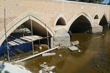 پل سید آباد منتسب به دوره صفوی مرمت شد