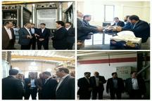 شاهمرادی از شهرکهای صنعتی سپهر و نظرآباد بازدید کرد
