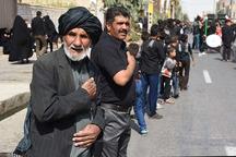 مراسم دسته روی ویژه اربعین حسینی در زاهدان برگزار می شود
