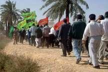 180نفر از شهروندان زرندیه به مناطق عملیاتی جنوب اعزام شدند