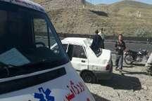 واژگونی خودروی پراید در جاجرود تهران 3 مصدوم داشت