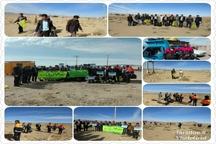 پاکسازی پنج هکتار از اراضی حاشیه منطقه حفاظت شده بهرام گور در نیریز