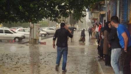 آغاز بارش باران و احتمال وقوع سیلاب در مازندران از امشب