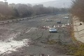 رودخانه شهرچای، پیست اتومبیلرانی شد!  تصویر