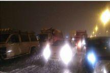 ترافیک مسیر هراز و فیروزکوه بسیار سنگین است