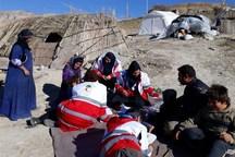 اعزام سومین تیم  حمایت روانی هلال احمر اصفهان به منطقه زلزله زده غرب