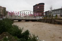بارندگی شدید سبب آبگرفتگی معابر مازندران شد