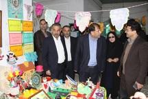 نمایشگاه فرهنگی و هنری فجر در آستارا دایر شد