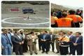 کلنگ احداث پروژه راهدارخانه بزنوید الیگودرز به زمین زده شد