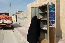 نویسنده بوشهری 300 جلد کتاب به روستای درازی اهدا کرد