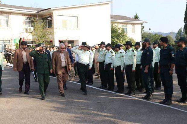 صبحگاه مشترک نیروهای مسلح تالش برگزار شد