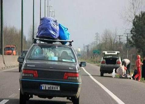عبور تعداد مسافران نوروزی از مرز 7.5 میلیون نفر